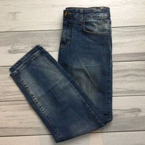 Dirty Wash Baby Phat Denim Jeans - Size 9